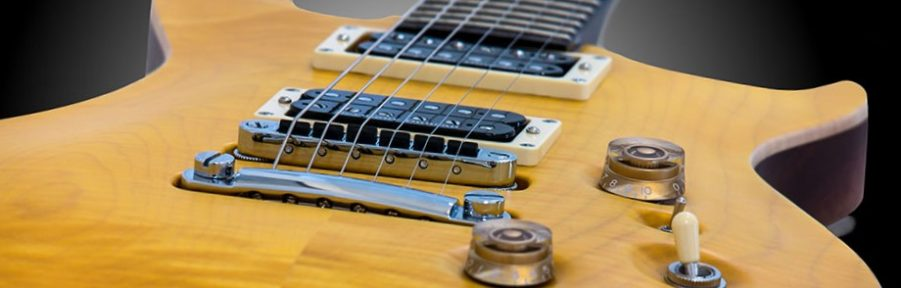 hier eine E-Gitarre abgebildet